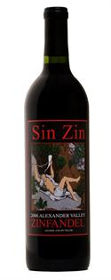 Alexander Valley Vineyards Zinfandel Sin Zin 2013 1.50l
